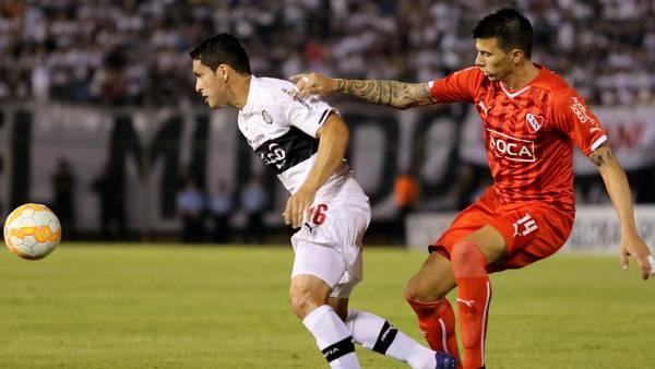 Cristiano Riveros Olimpia Asuncion Bolaparlay