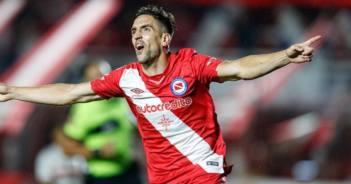 Gabriel Hauche Argentinos Juniors Bolaparlay
