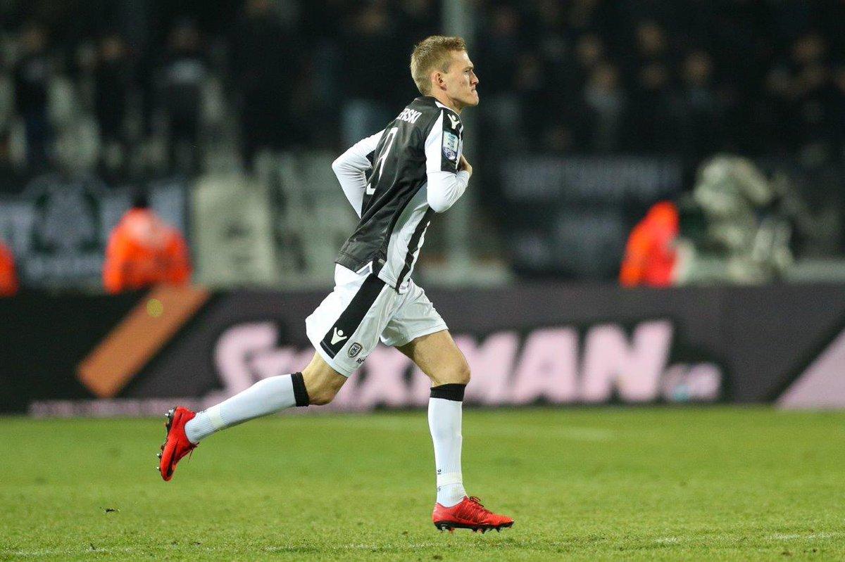 Karol Swiderski PAOK Bolaparlay