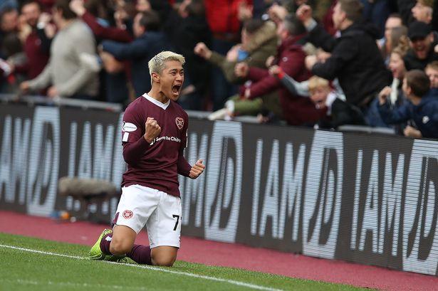 Ryotaro Meshino Hearts of Midlothian Bolaparlay