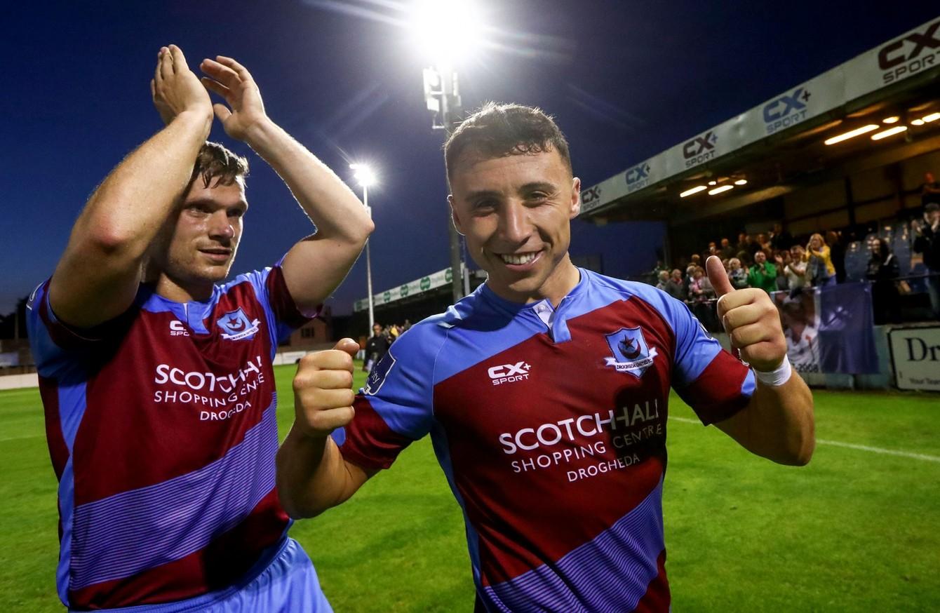 Chris Lyons Drogheda United Bolaparlay