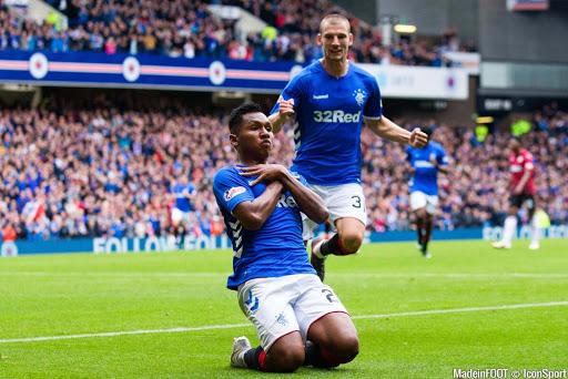 Alfredo Morelos Glasgow Rangers Bolaparlay
