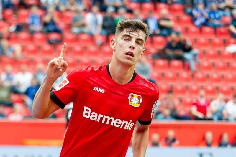 Kai Havertz Bayer Leverkusen Bolaparlay